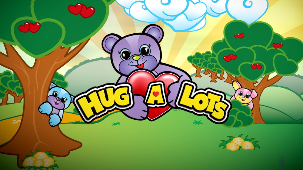 Hug A Lots logo animation ID