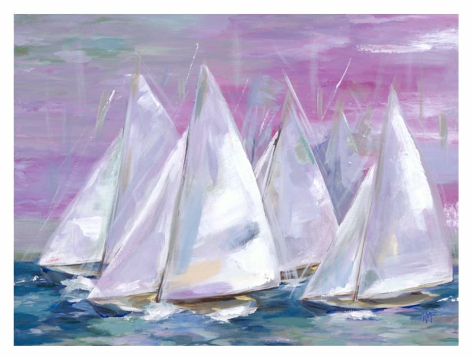 Kelly Fielden-sailorsdelight Oil At West Annapolis Art Works.JPG