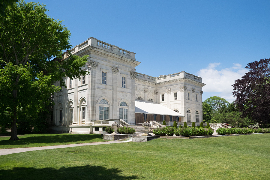Marble House Back