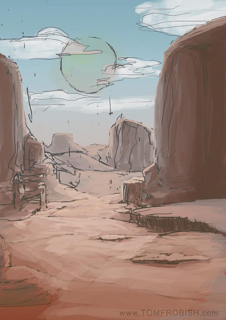 Sketchy Desert