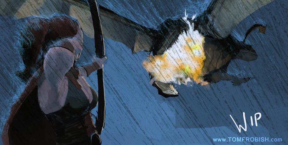 Exploding Dragon Head