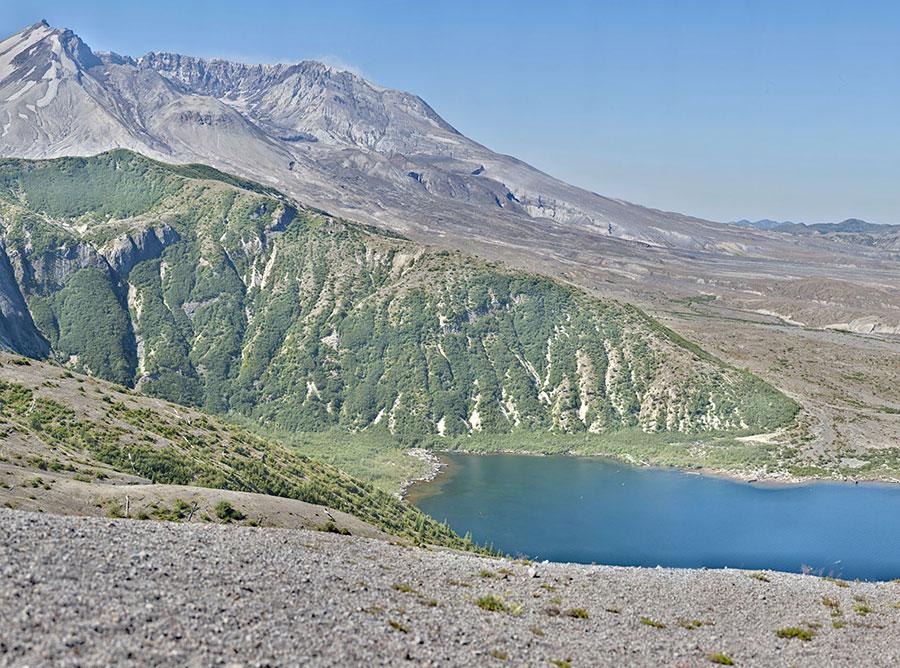 Spirit Lake from Windy Ridge Viewpoint VIEW FULLSCREEN