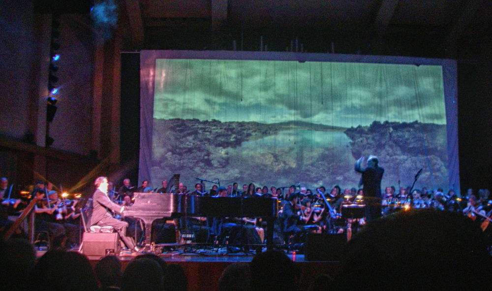 Panoramas as backdrop to the American Symphony - VIEW PROJECT & WATCH VIDEOS