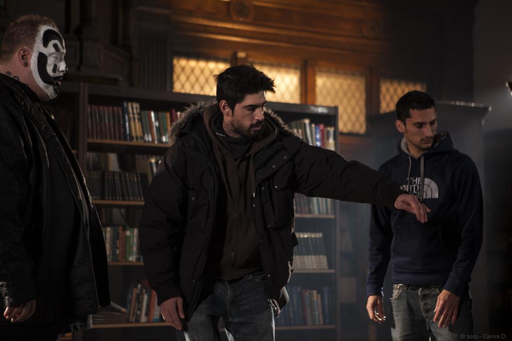 Violent J, Julien and Ben Deka