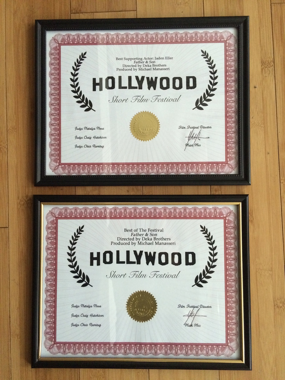 Hollywood Short Film Festival 2015