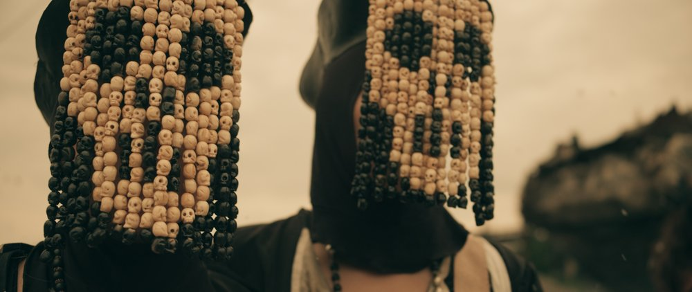 The Nuns beads's face concept design: Clarice Deka actress: Sarah Benedict & Joyce Lzrioza