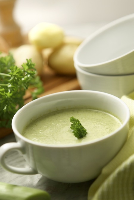 click    to enjoy Potato Leek Soup recipe