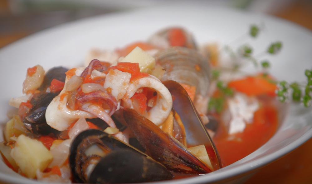 George Hirsch Lifestyle Seafood Chowder