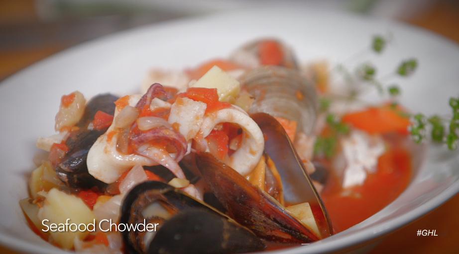 George Hirsch Seafood Chowder
