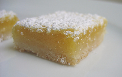George Hirsch Lemon Squares