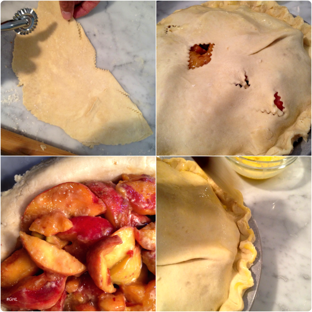 George Hirsch Rosé Peach Pie