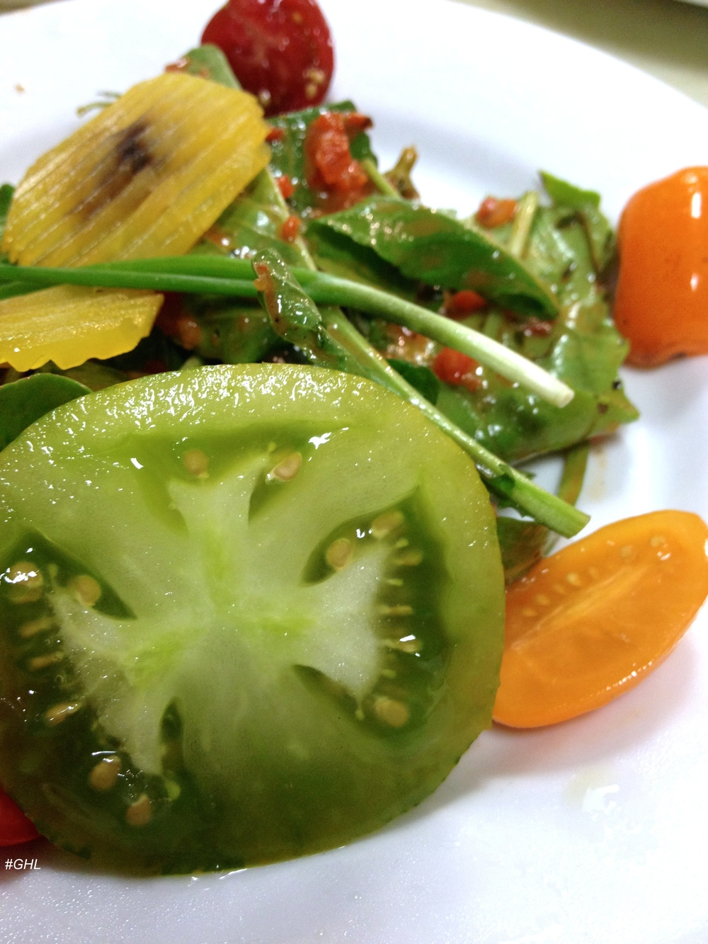 Chef George Hirsch Heirloom Tomato Salad