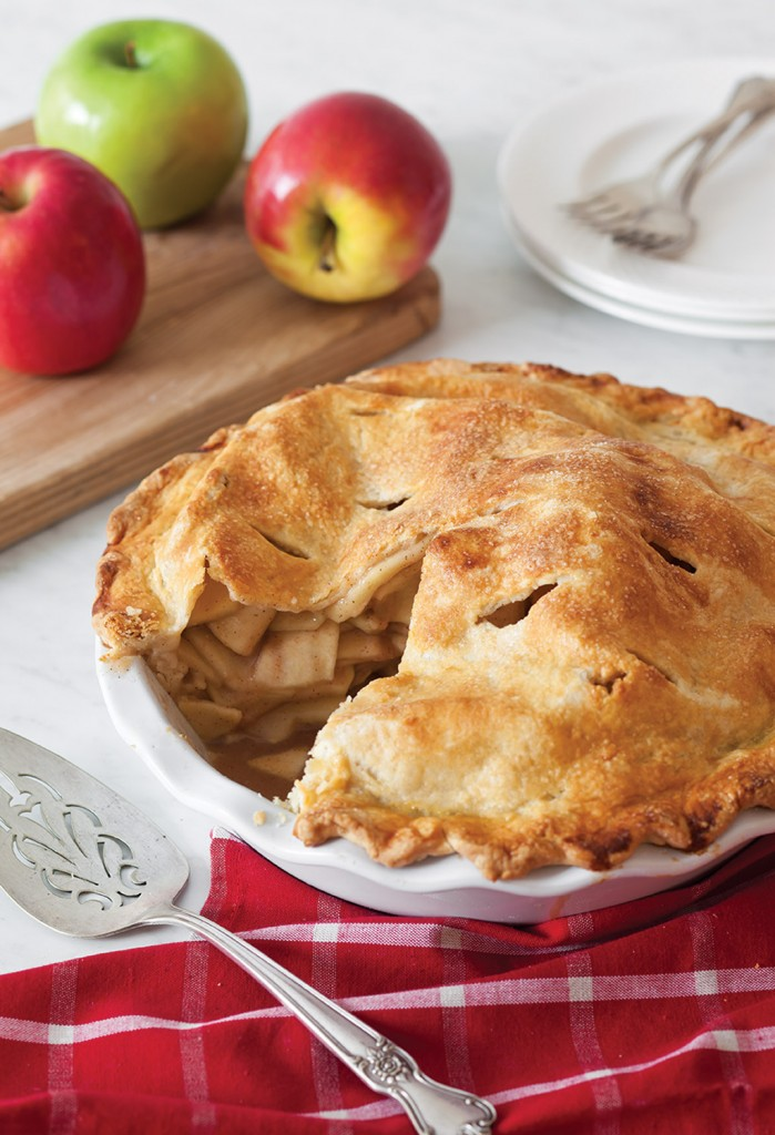 George Hirsch Apple Pie as featured in Celebrate Magazine