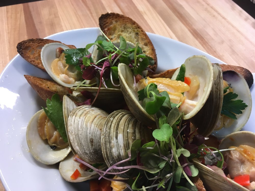 Portuguese Clams, prepared on  Food Talk