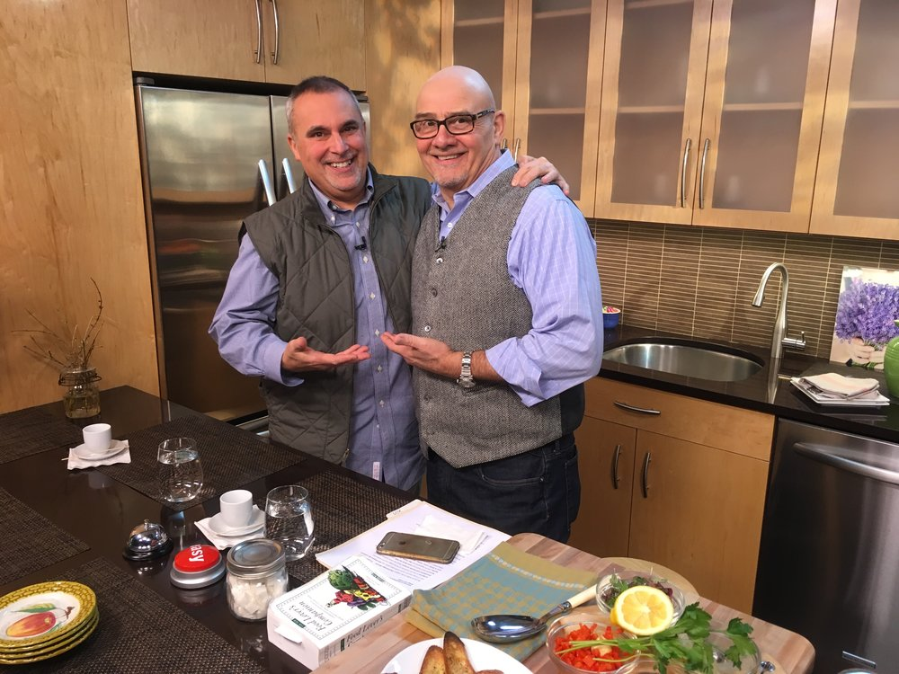 chef George Hirsch,  Talk Show  host Steve Haweeli