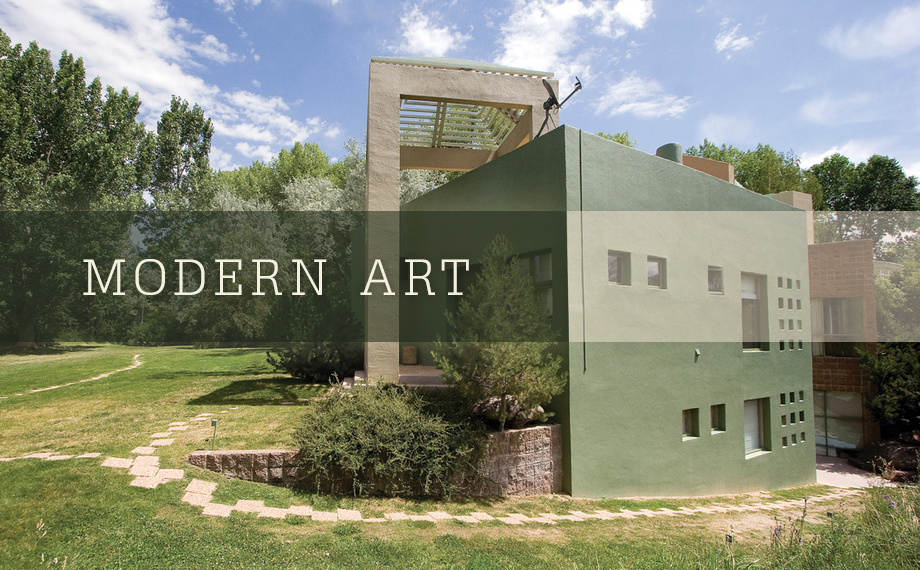 Modern Art Homes For Sale In Taos Dreamcatcher Real Estate Co