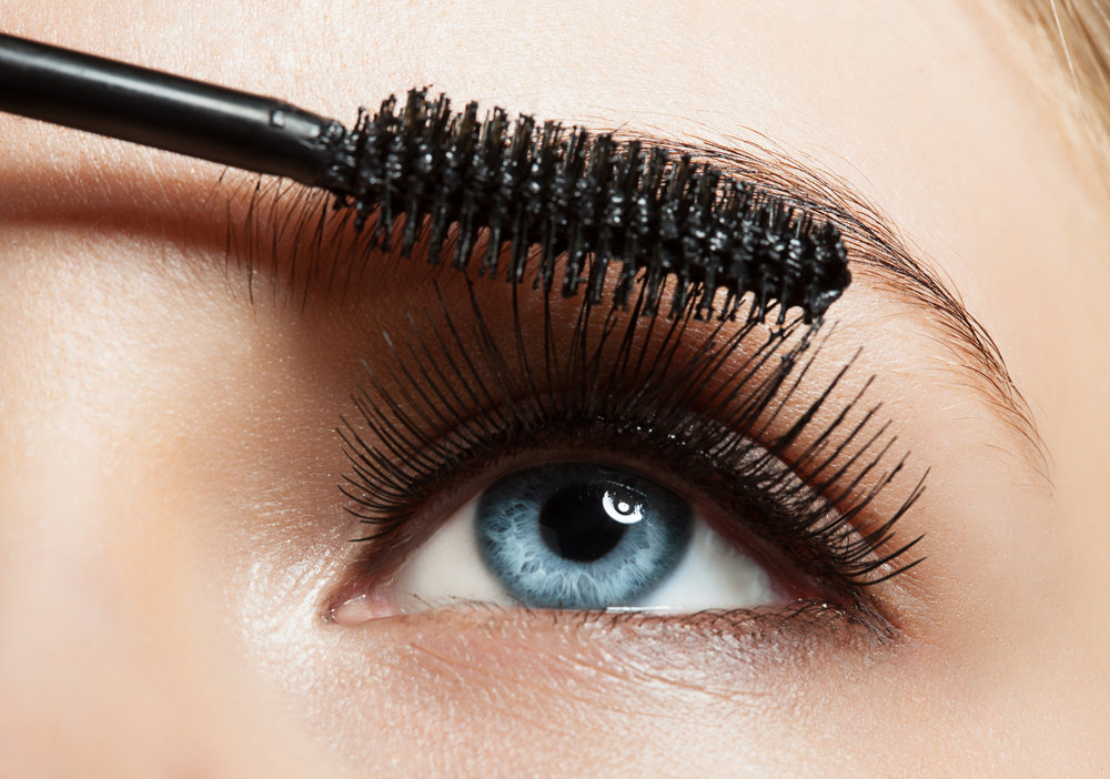 Mascara and false lashes application   - How to make your lashes look their best, how to apply a full or half strip of false lashes, care and removal of false lashes