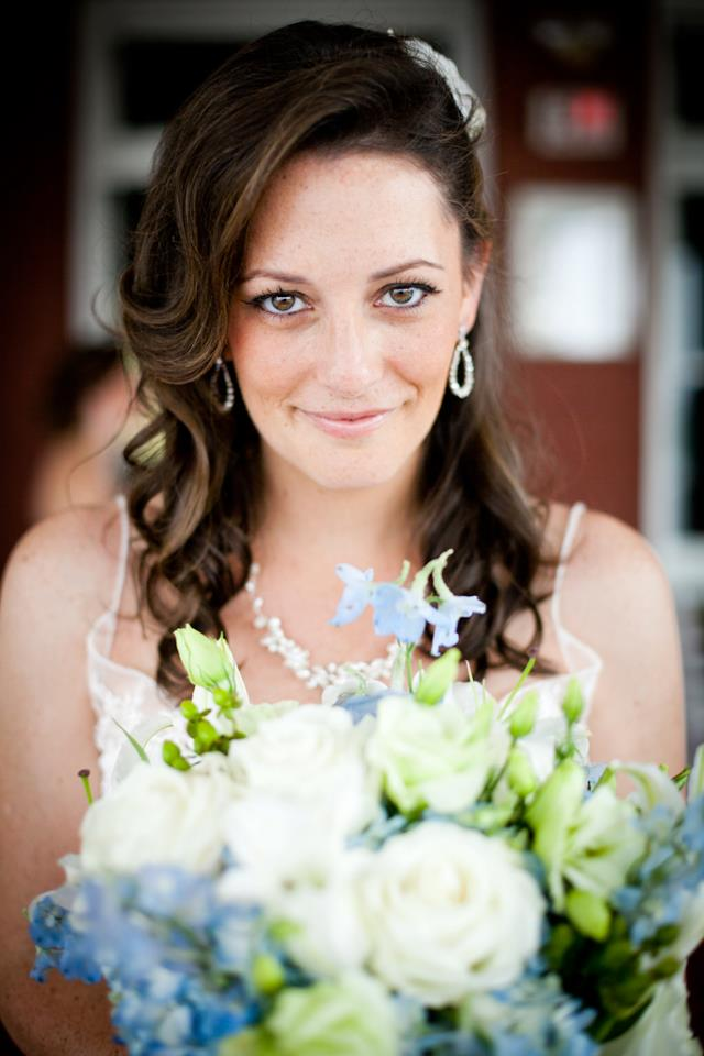 Aimee on her wedding day :)