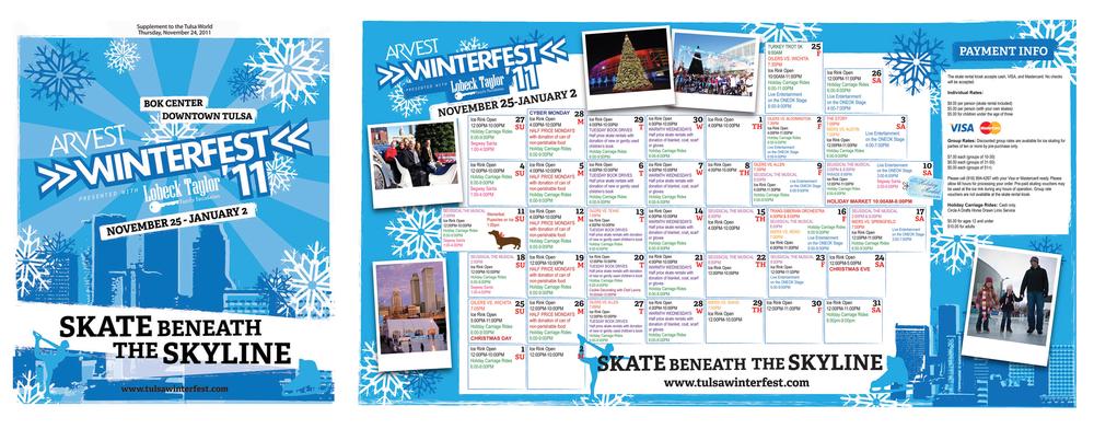 Winterfest Insert for Tulsa World