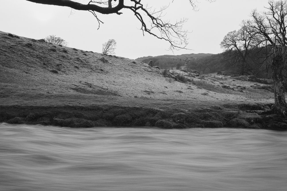 River Rothay after the flood