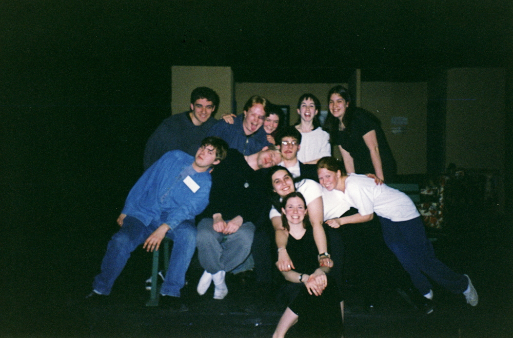 The cast and crew of The People vs. Jesus Christ.