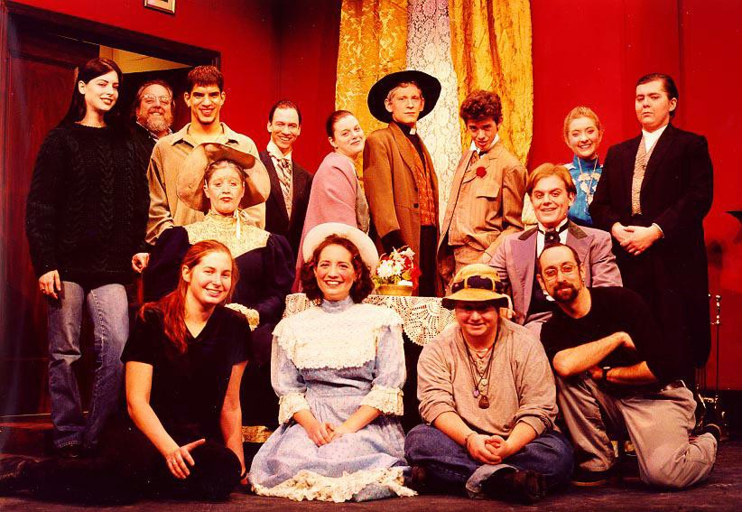 The cast and crew of The Importance of Being Earnest.