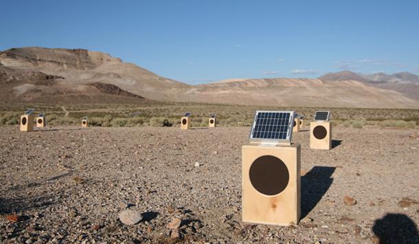 PHOTO: Sun Boxes at The Goldwell Open Air Museum, June 2009 by David Sanchez Burr.