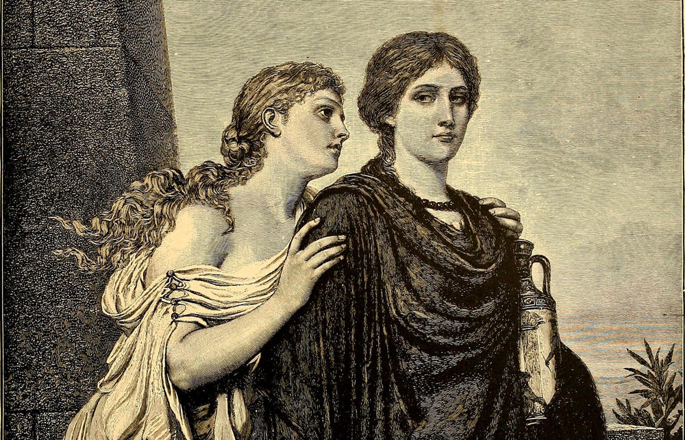 """Detail from from page 98 of """"Character sketches of romance, fiction and the drama"""" (1892)"""