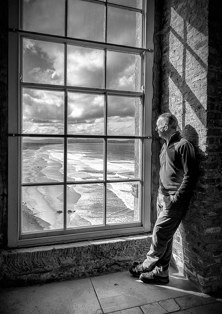Storm Watching by  Brian Maguire LRPS