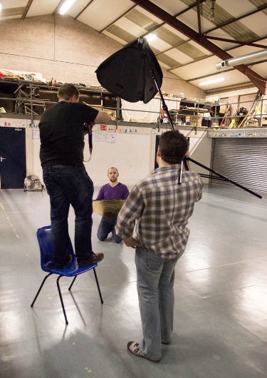 Picture posed by models, none of whom were harmed in the process.