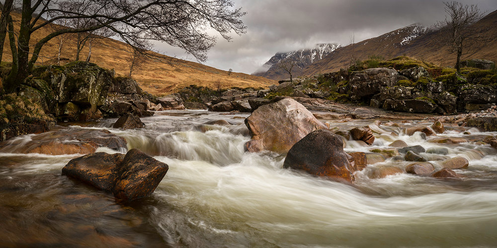 Highly Commended - Colour Print - Winter Flow - Jim Murray