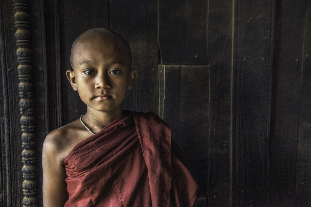 Novice Monk - by Paul Stanley FIPF EFIAP/b EsFIAP IPF FIAP