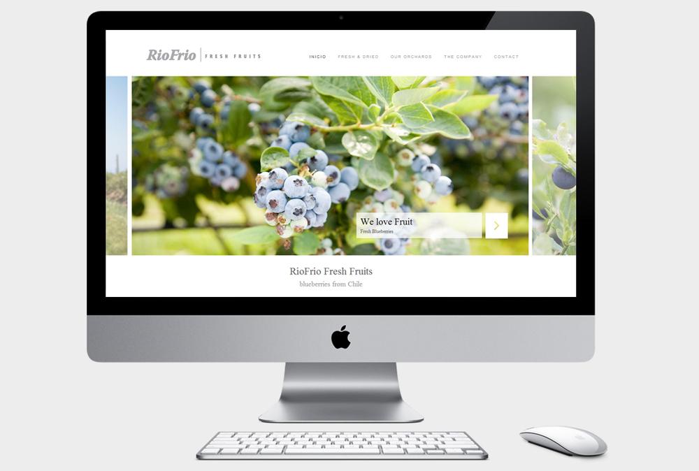 design lead: Francisca de la Maza   www.riofrioexport.com
