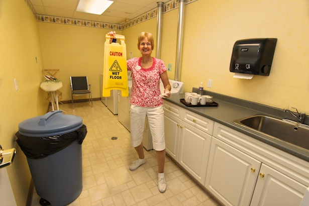 Ann and our friendly housekeepers keep your places tidy.