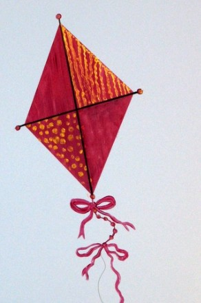 Kites come inall shapes and sizes.