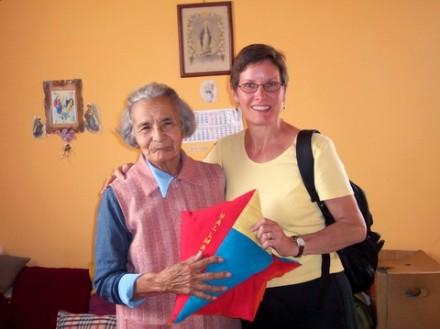 Hallmark residentsmade kites for residents at Casa Maria.