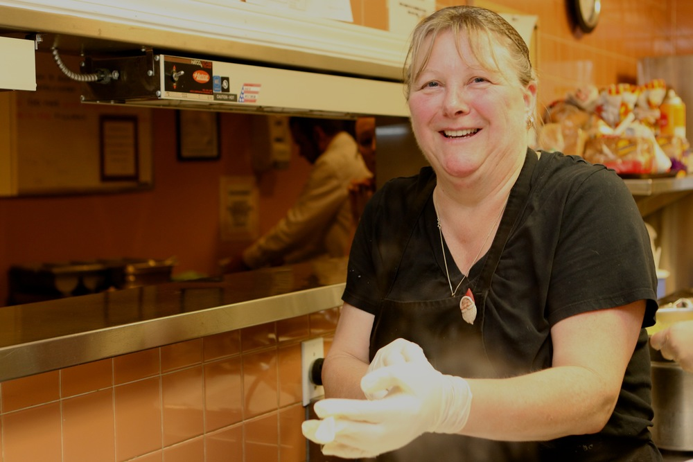 Dale is one of our longest-serving staff members, and has cooked up many special meals, including lots of Christmas gala dinners.