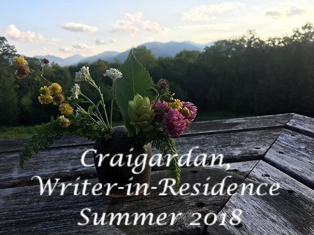 Writer-in-Residence, July-August 2018