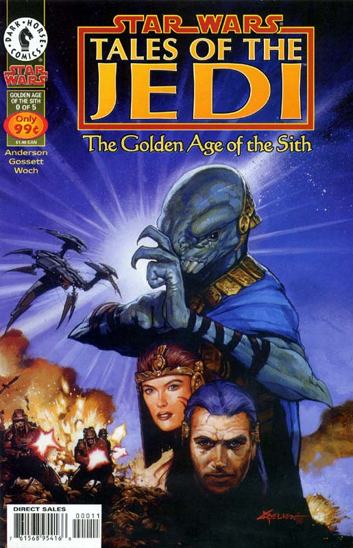 Tales of the Jedi: The Golden Age of the Sith, #0 (July, 1996)