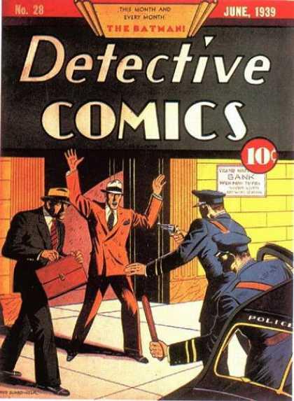 DETECTIVE COMICS, #28 (JUNE, 1939)