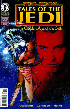 Star Wars: Tales of the Jedi: The Golden Age of the Sith, #1 (October, 1996)