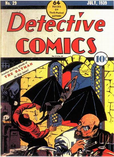 Detective Comics, #29 (July, 1939)