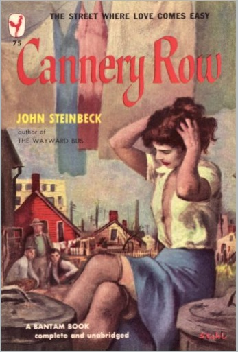 an analysis of the novel cannery row by john steinbeck Cannery row by john steinbeck home / literature / cannery row / cannery row analysis right at the end of the book he recites a little more.