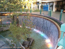 Very cool waterfall at the Disneyland Hotel - click for a bigger image, of course!