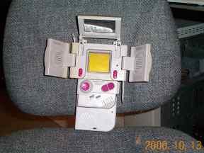 Krogroth Game Boy - the biggest Game Boy ever! (C) Stephen Clarke-Willson
