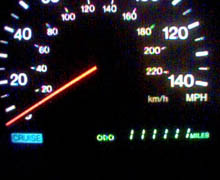 111,111 miles on my car!