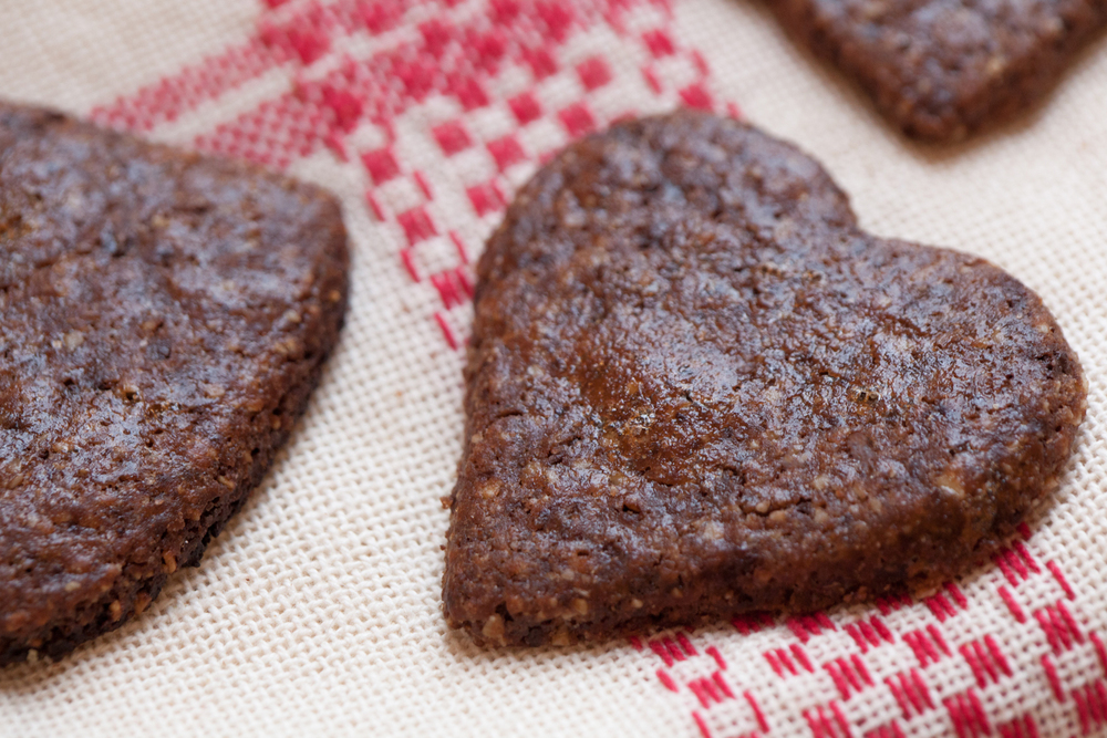 Chocolate Spice Hearts