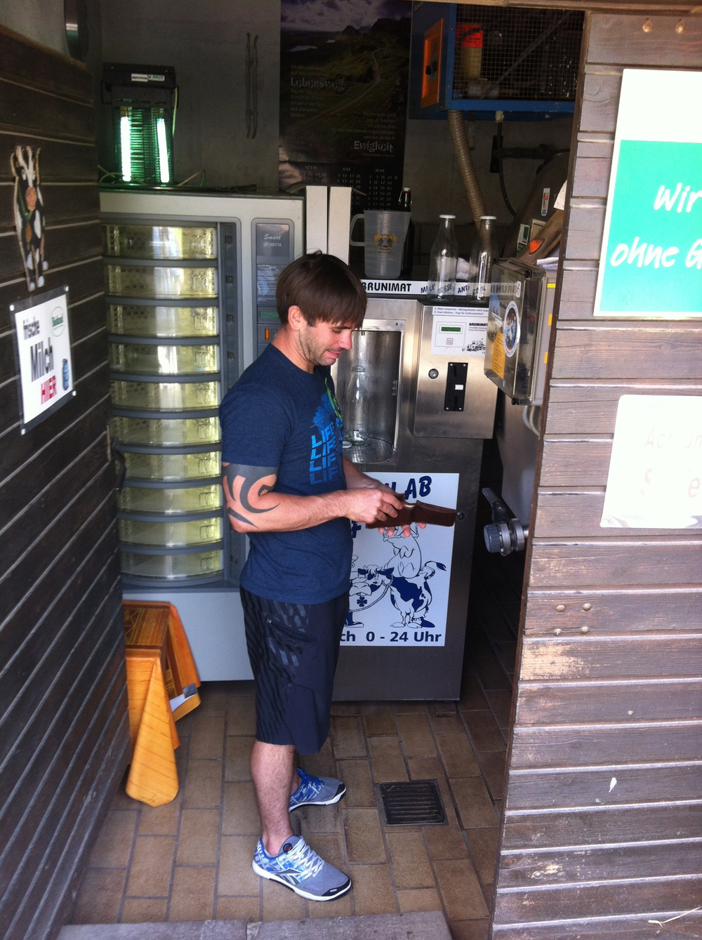 Buying Raw Milk in Germany