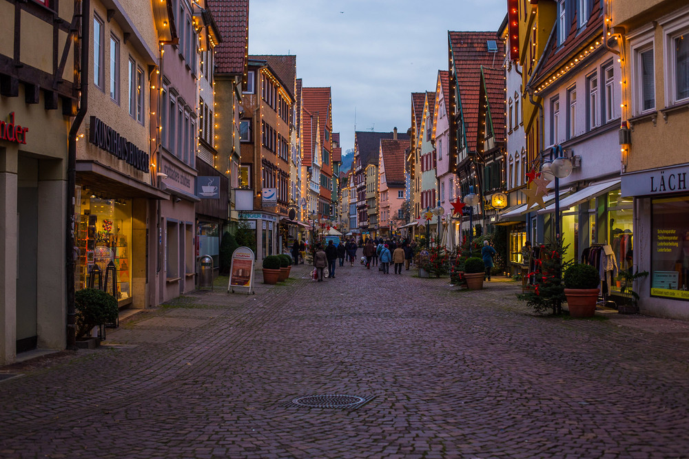 The Old Town Area in Esslingen