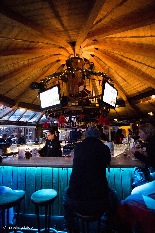 Marco's, a typical après ski bar in Austria